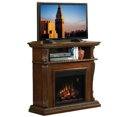 Chimneyfree Corinth Entertainment Electric Fireplace W
