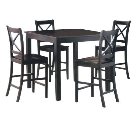 Martha 5 Piece Counter Height Dining Set By Acme Furniture