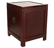 Home Reflections Flip Top Trunk with Removable Tray - H199279