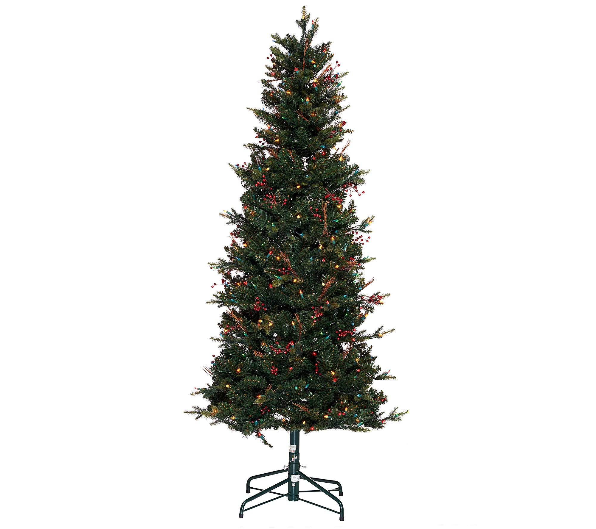 Bethlehem Lights 5' Lakewood Fir Christmas Tree w/Instant Power ...