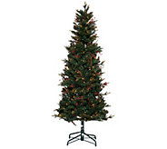Bethlehem Lights 5 Lakewood Fir Christmas Tree w/Instant Power - H205679