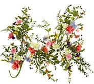 4 Wildflower Blossom Garland by Valerie - H213779