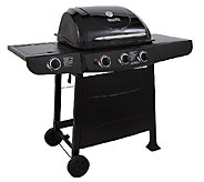 Char-Broil 36,000 BTU 3-Burner Gas Grill W/ Side Burner - H283879