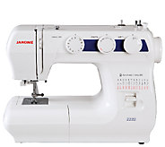 Janome 2222 Sewing Machine - H287079
