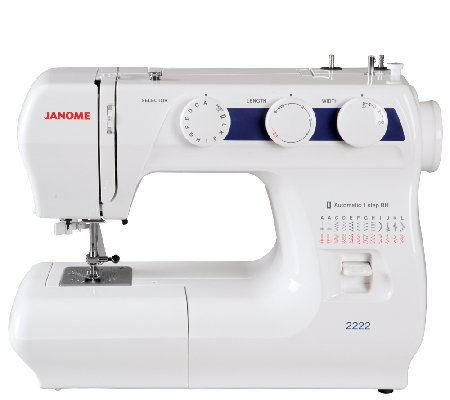 Janome 2222 Sewing Machine  QVC