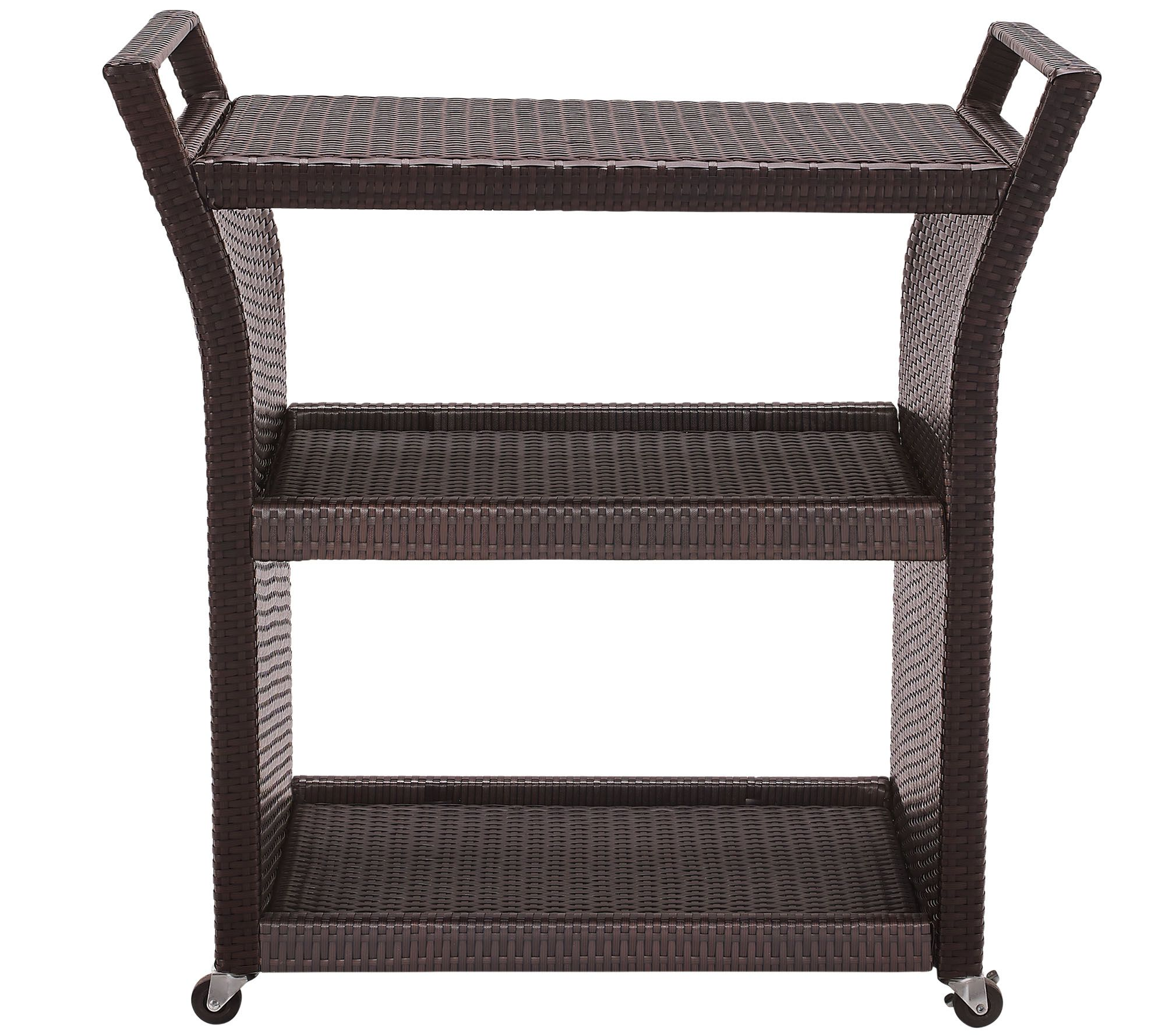 Palm Harbor Outdoor Wicker Bar Cart QVCcom : h288579 from www.qvc.com size 2000 x 1778 jpeg 361kB