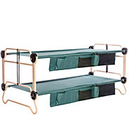 Disc-O-Bed XL Cam-O-Bunk with 2 Side Organizers - H289779