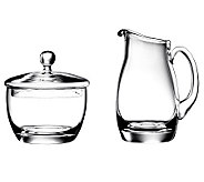 Luigi Bormioli Michelangelo Sugar and Creamer Set - H364979