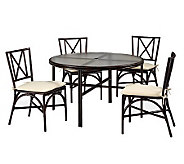 Home Styles Outdoor Bimini Jim 5-Piece 42 Dining Set - H367879