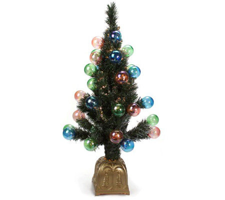 Indoor Outdoor 4 39 Pre Lit Pull Up Christmas Tree