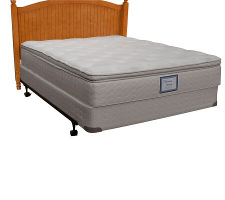 Sealy Posturepedic Queen Euro Pillow Top Mattress Set