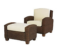Home Styles Cabana Banana Chair and Ottoman - H154580