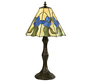 Tiffany Style 20-1/2H Iris Accent Lamp - H181380