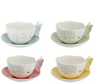 Lenox 8-piece Butterfly Meadow Cup & Saucer Set - H204380