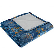 ED On Air Medallion Velvetloft Throw by Ellen DeGeneres - H206180