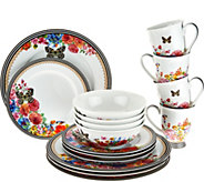 Lenox Melli Mello Porcelain 16pc Dinnerware Set - H208980