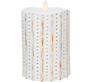 5.5 Patterned Mirage FlamelessCandle by Candle Impressions - H209380