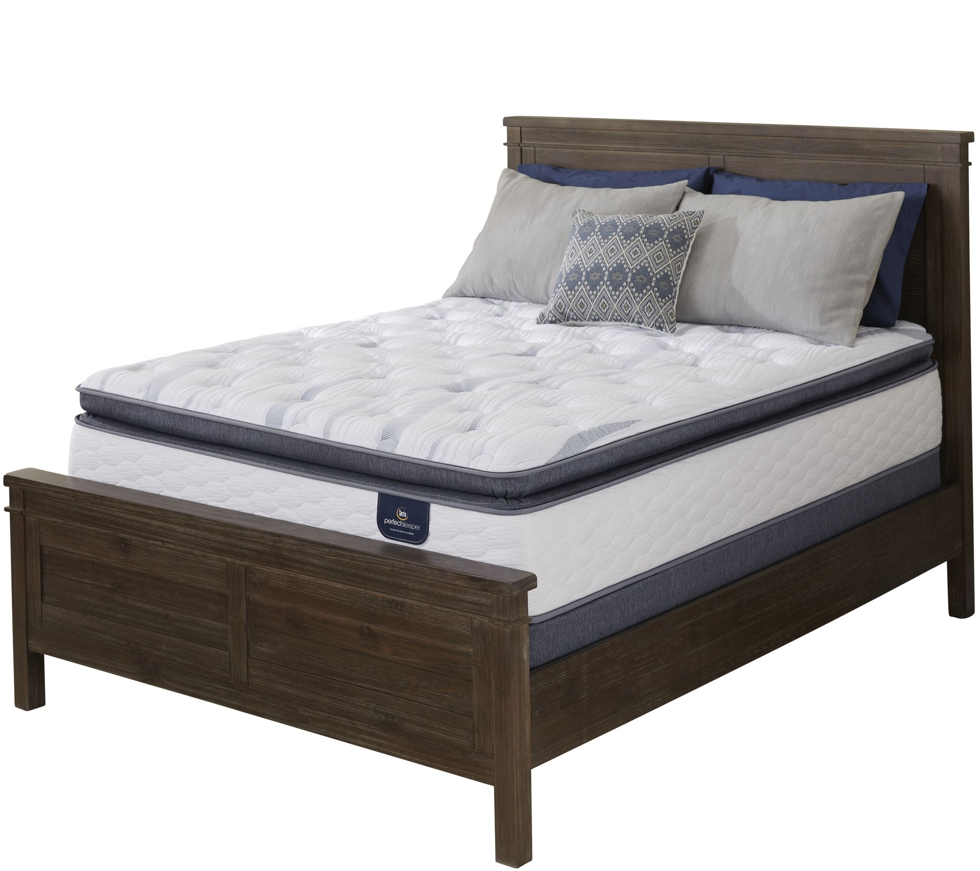 serta perfect sleeper belleshore super pt twin mattress set h211980