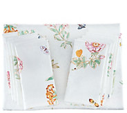 Lenox Butterfly Meadow 60x120 Water Repel Tablecloth w/ 10 Napkins - H214980