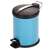 Honey-Can-Do 3-Liter Step Trash Can, Blue - H288880