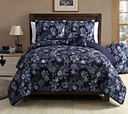 VCNY Home Scroll Snowflake 4-Piece Twin XL Comforter Set - H290780