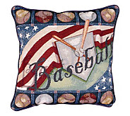 Baseball Legend Accent Pillow by Simply Home - H137781