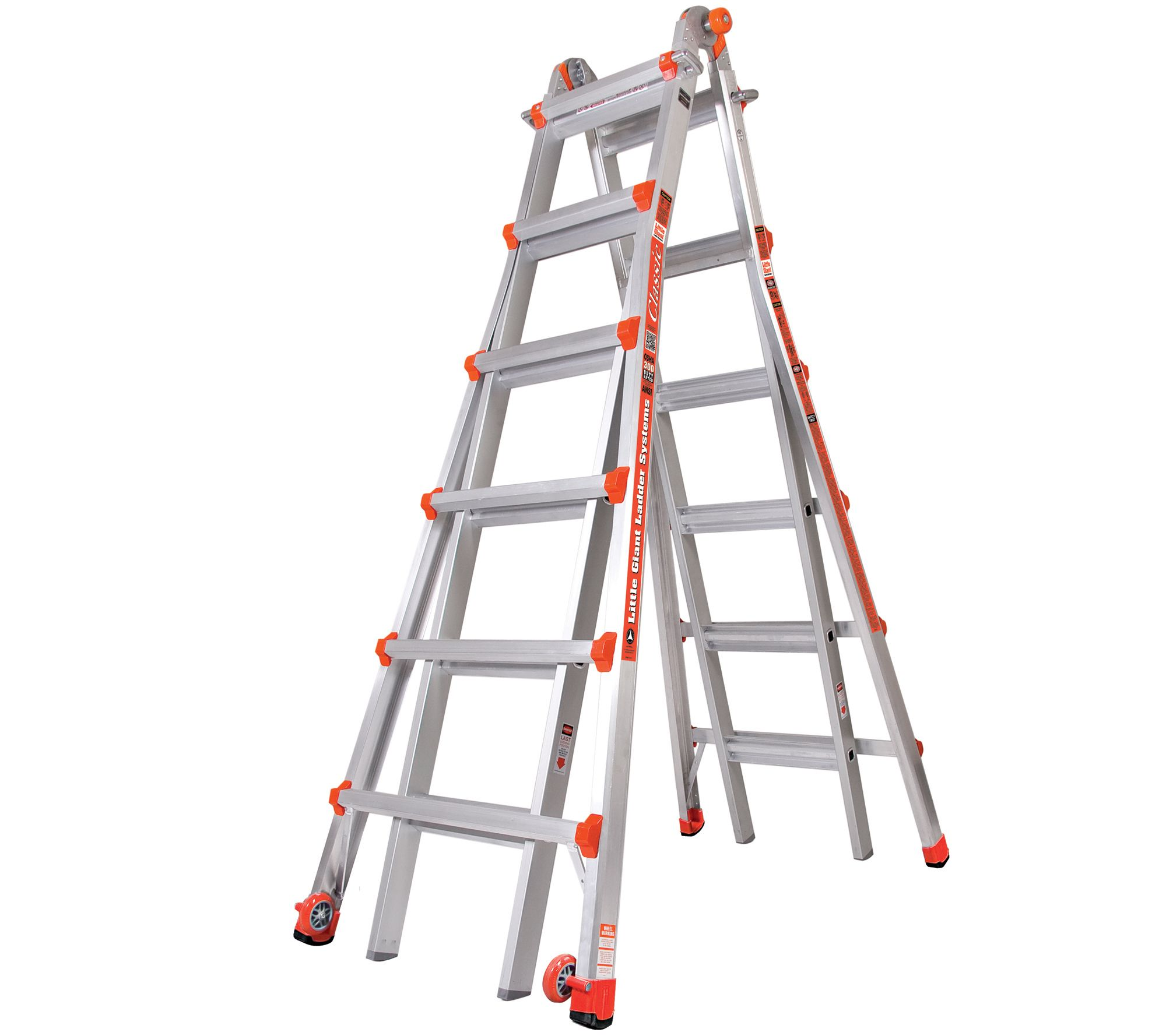 Little Giant Model 26 Multipurpose Ladder Type1a Page 1