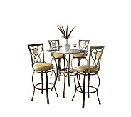 Hillsdale House Brookside 5-Piece Bistro Set - H159381