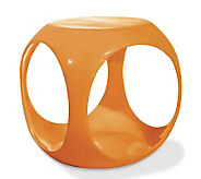 Avenue Six Slick Cube Occasional Table - Orange - H175781