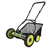 Sun Joe Mow Joe 18 Push Reel Mower w/Catcher - H188081