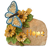 Illuminated Inspirational Garden Stone by Valerie - H204581
