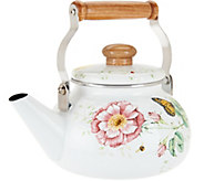 Lenox Butterfly Meadow 2 Quart Teakettle - H206881