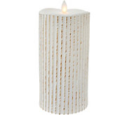 7.5 Patterned Mirage FlamelessCandle by Candle Impressions - H209381