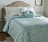 Casa Zeta-Jones Signature Lace Queen Comforter Set - H213581