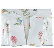 Lenox Butterfly Meadow 60x140 Water Repel Tablecloth w/ 12 Napkins - H214981