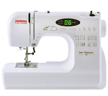how to use a new home janome sewing machine