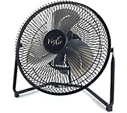 Vie Air 9 High-Velocity Tilting 3-Speed MetalFloor Fan - H293581