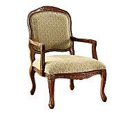 Quintus Oak Finish Accent Chair - H359481