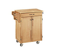 Home Styles Cuisine Cart Natural Finish - H127282