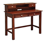 Home Styles Hanover Student Desk/Hutch Combination - Cherry - H155982