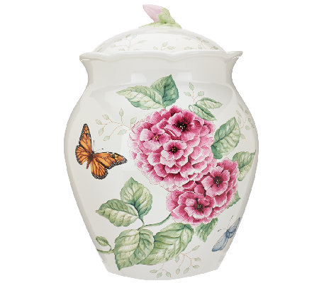 Lenox Limited Edition Butterfly Meadow Cookie Jar