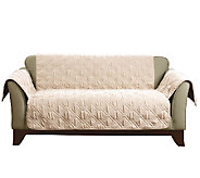 Sure Fit Deluxe Waterproof Non-Skid Back Furniture Cover Loveseat - H205082