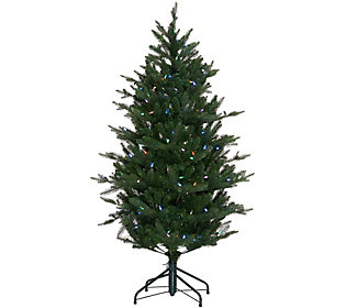 As Is Santa's Best 5' RGB 2.0 Green Balsam Fir Christmas Tree
