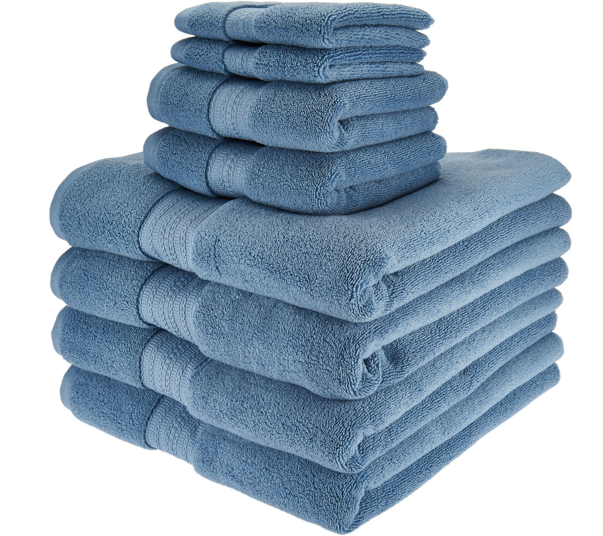 Northern Nights 8 Piece Luxury 100 Cotton Generous Size Bath Towel Set Pag