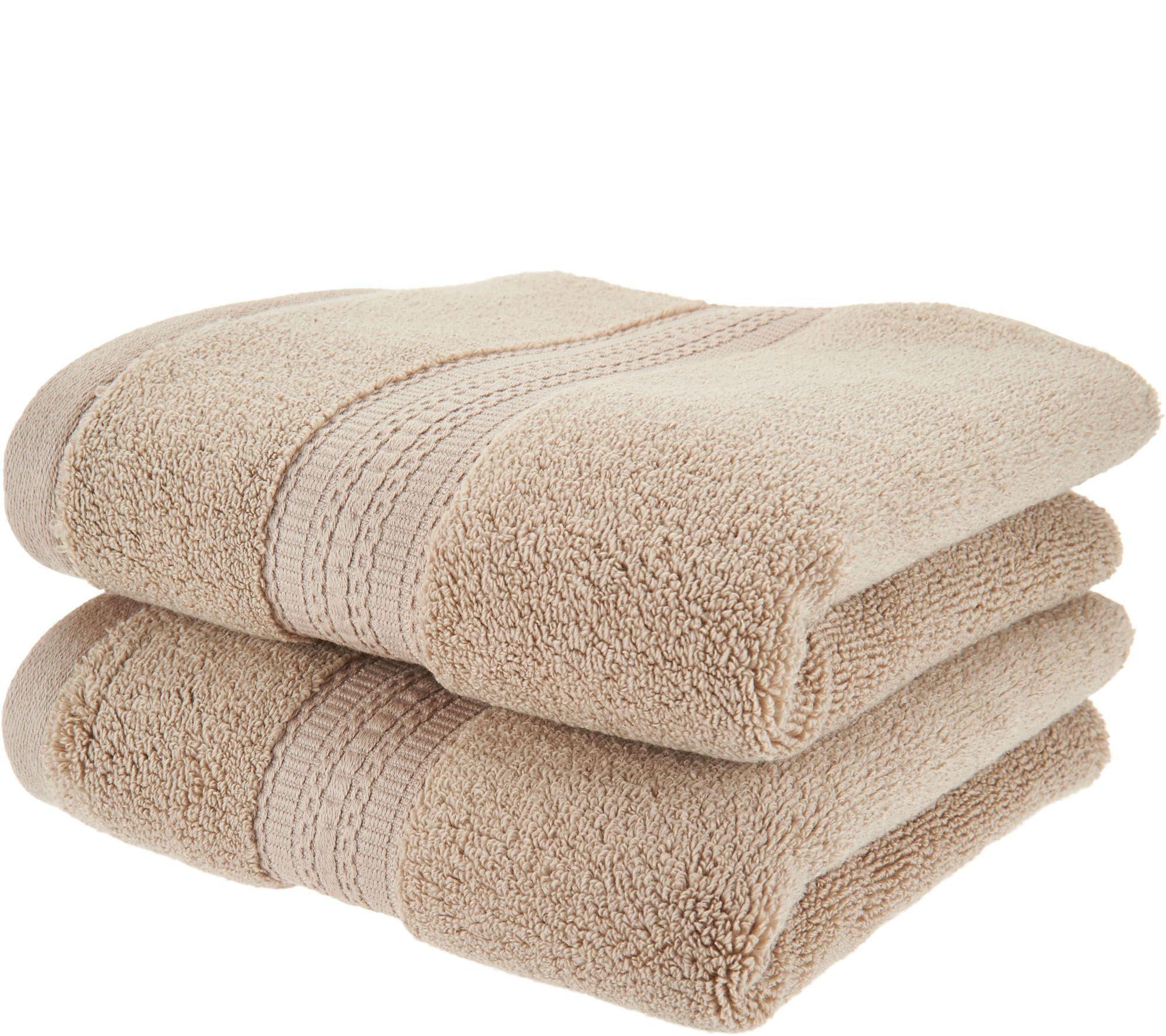 Northern Nights 8 Piece Luxury 100% Cotton Generous Size Bath Towel Set -  Page 1  QVC.com