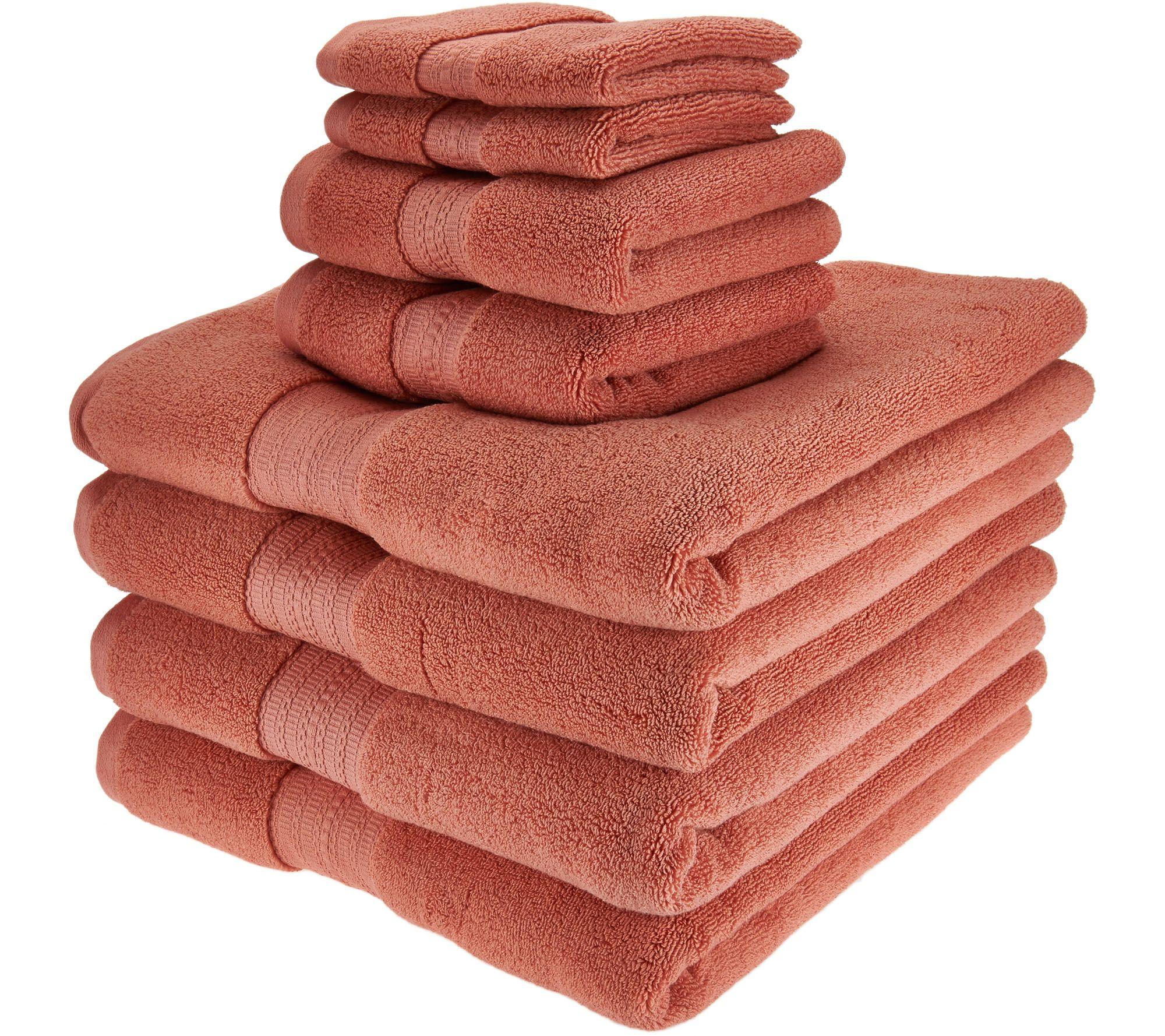 northern nights 8 piece luxury 100% cotton generous size bath