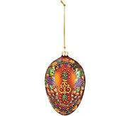 Joan Rivers Handpainted Autumn Harvest 6 Egg Ornament - H211482
