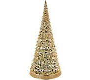 20 Oversized Illuminated Acrylic Tree w/ Color Show by Valerie - H211682