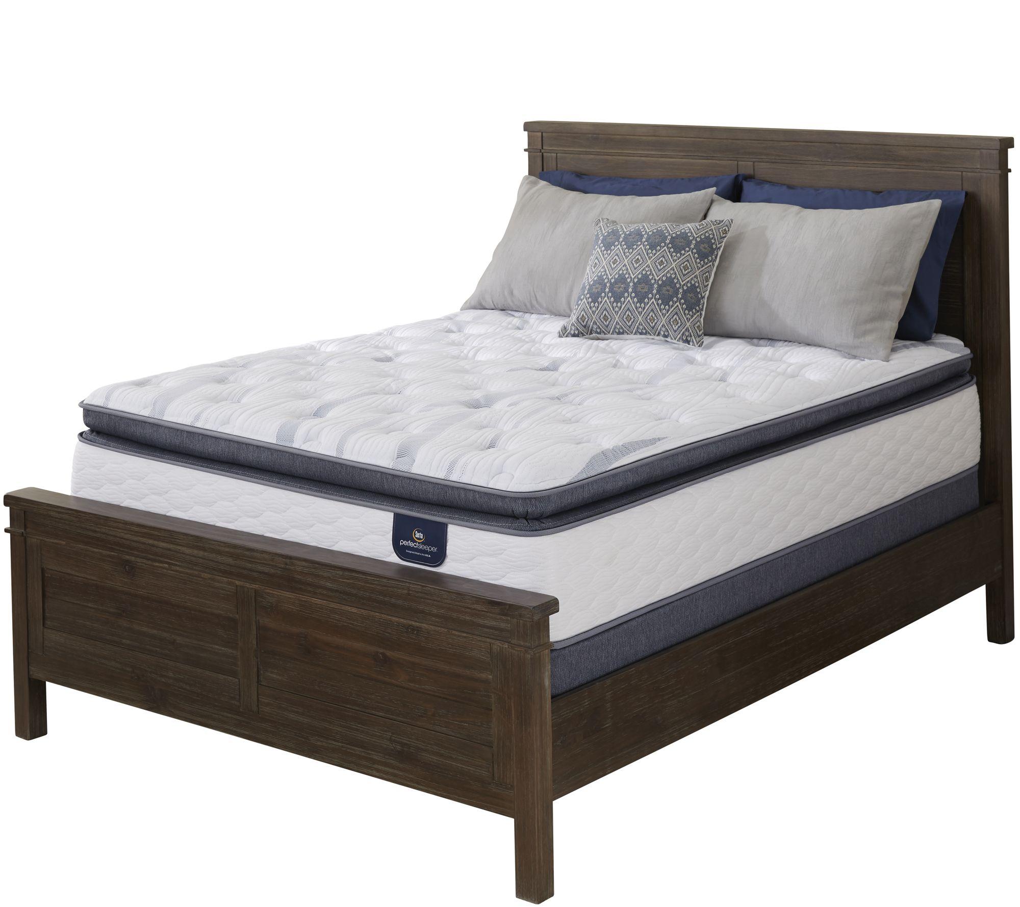 Serta Perfect Sleeper Belleshore Super PT Queen Mattress Set - H211982