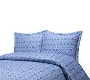 100Cotton Paisley Print King Duvet Cover andShams Set - H285782